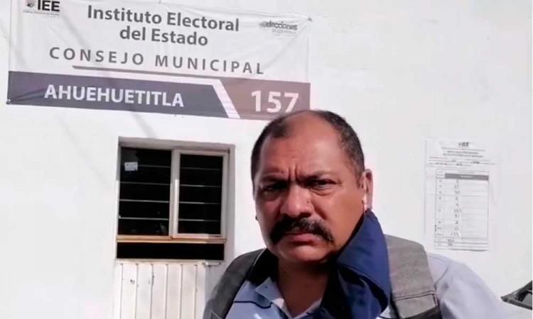 Piden al Congreso de Puebla intervenir en la elección de candidato en Ahuehuetitla