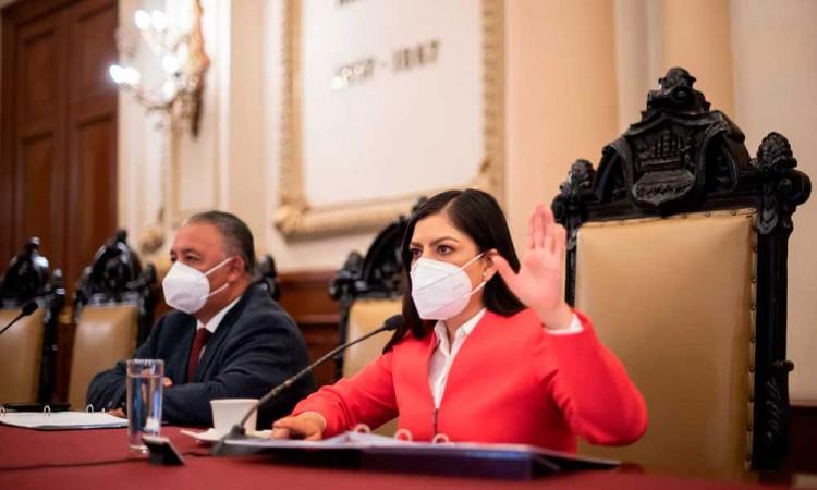Aprueba Cabildo de Puebla comisión de transición y ampliación presupuestal