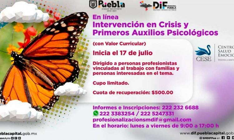 DIF Puebla abre inscripciones para sus próximos talleres durante el mes de julio