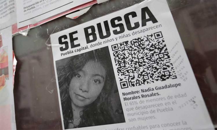 Se busca a Nadia Guadalupe