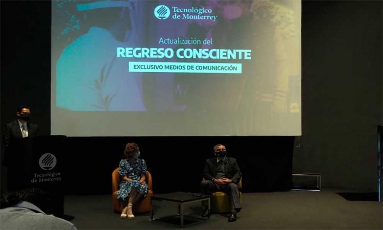 Conferencia de Prensa Tec de Monterrey Puebla