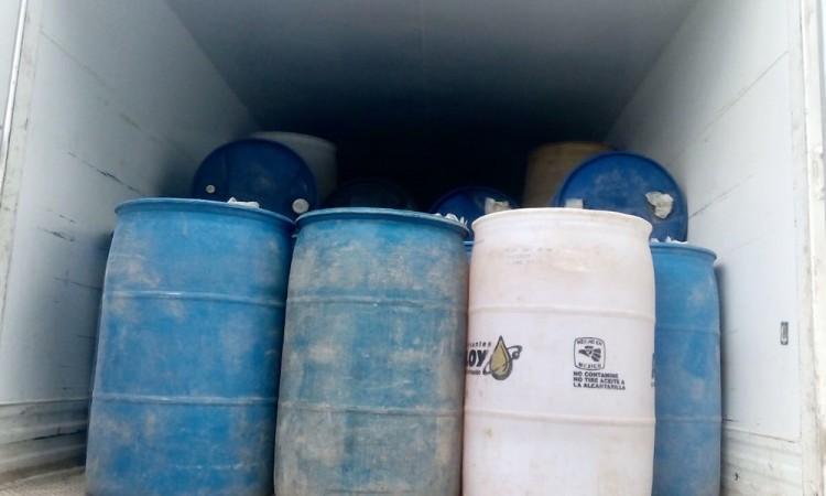 Recuperan 14 mil litros de combustible robado y 5 vehículos