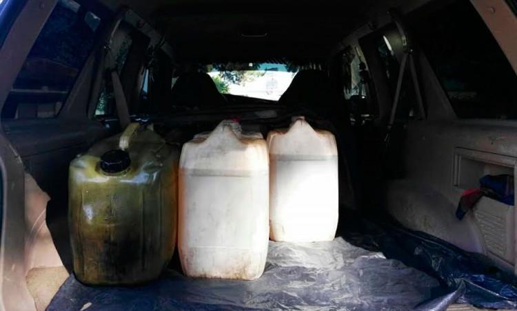 Recuperan más de 36 mil litros de gas ilícita