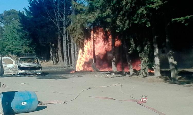Pérdidas de 2 mdp dejan incendios por actividad huachicolera
