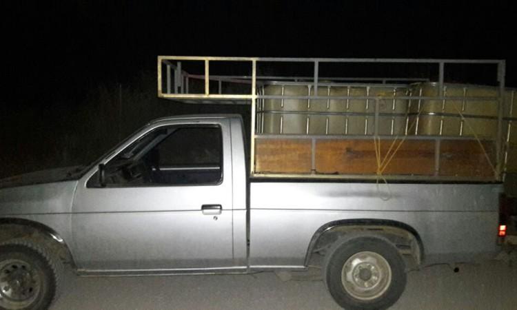 Aseguran 3 mil litros de combustible robado en operativos