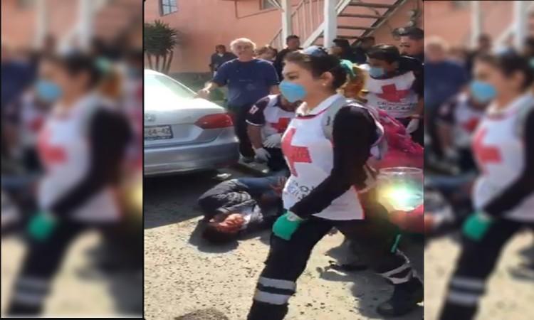 Disparan a sujeto en intento de robo en La Paz