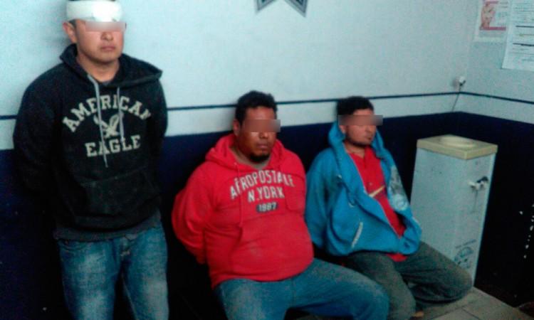 Caen ladrones que operaban en Atlixco