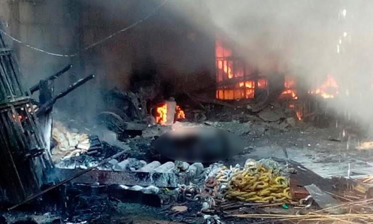 Explosión de polvorín sacude a Ixtacuixtla; hay 2 muertos