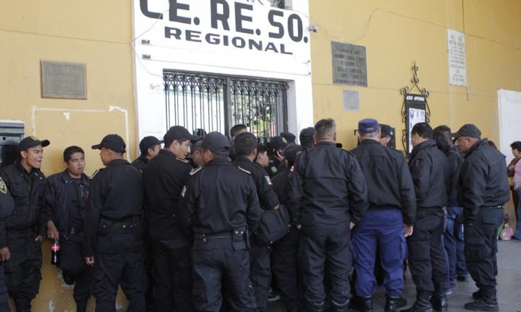 Inhabilitan mandos en penal de San Pedro Cholula