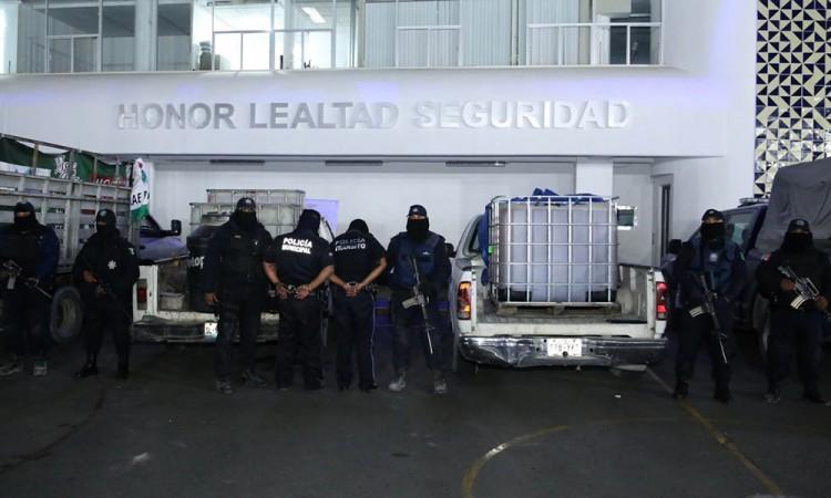 Ratifican legalidad de detención de los policías huachicoleros