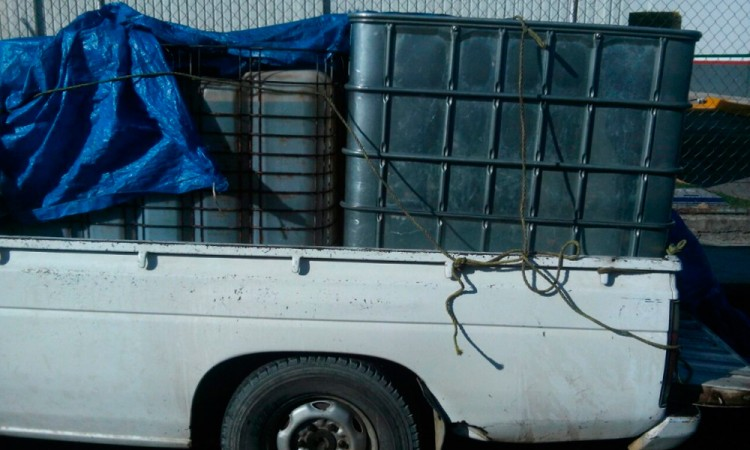 Aseguran más de 15 mil litros de combustible robado