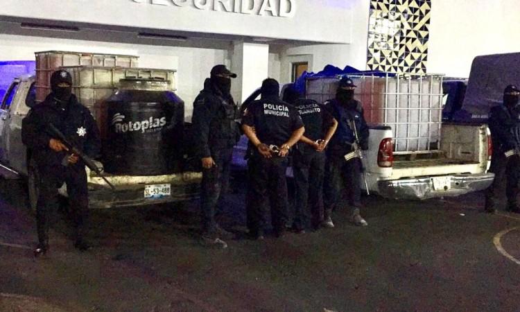 Vinculan a proceso a policías huachicoleros