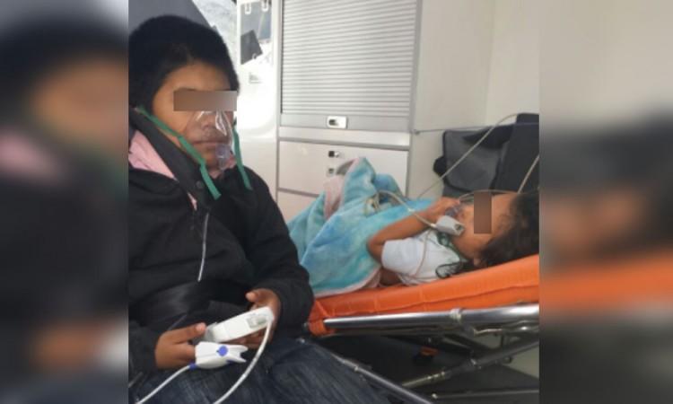 Salvan a familia de morir intoxicada con anafre
