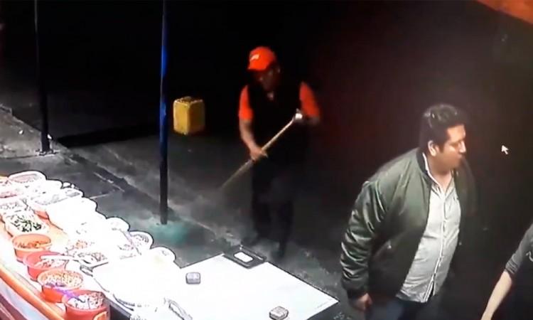 Atacante de molotero, un conocido de la policía