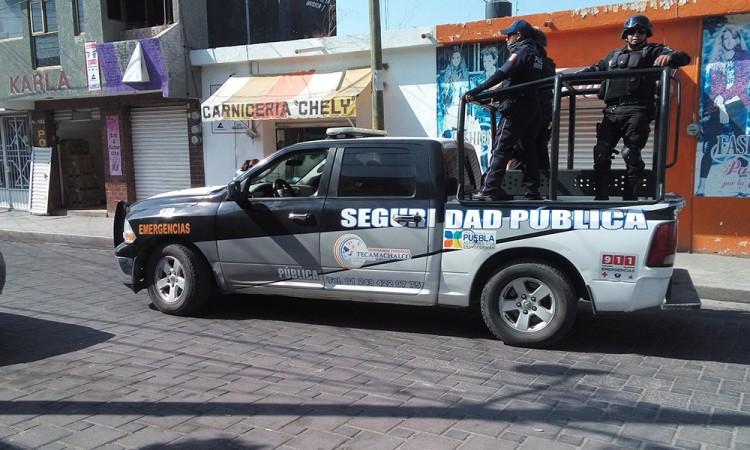 Desatan persecución y balacera por calles de Tecamachalco
