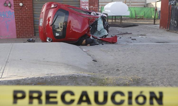 Exceso de velocidad provoca tragedia en la Puebla-Tehuacán