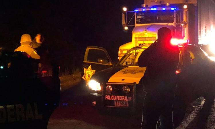 Escapa un transportista de falsos policías