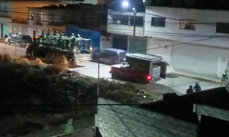 Atacan huachicoleros a militares en San Martín