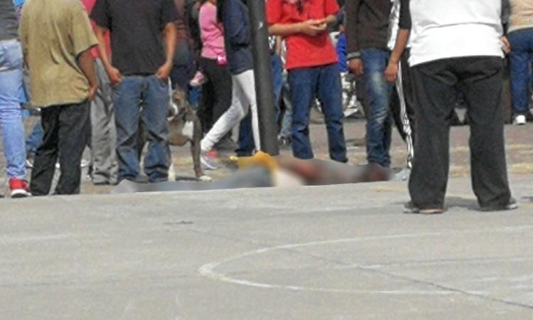 Linchan a presunto ladrón de bicicleta en Ometoxtla