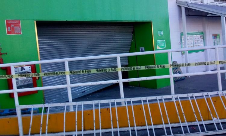 Comando roba cajero en Tecamachalco