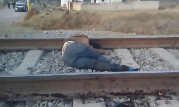 Hallan en vías del tren a una muerta