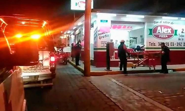 Ocurre homicidio en pizzería de Tehuacán