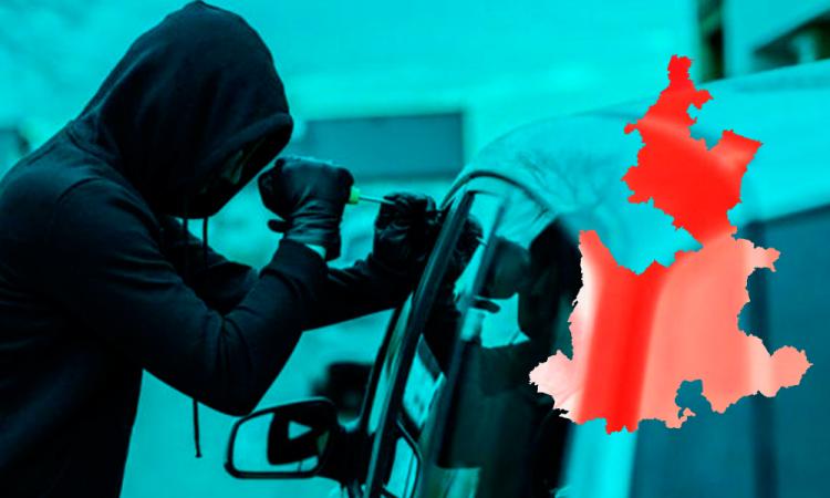 Continúan robos de vehículos en el Triángulo Rojo