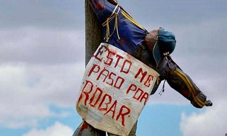 Ocurre primer linchamiento del año en Chiautzingo