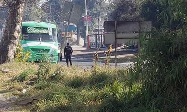 Asaltan a mano armada a pasajeros de autobús