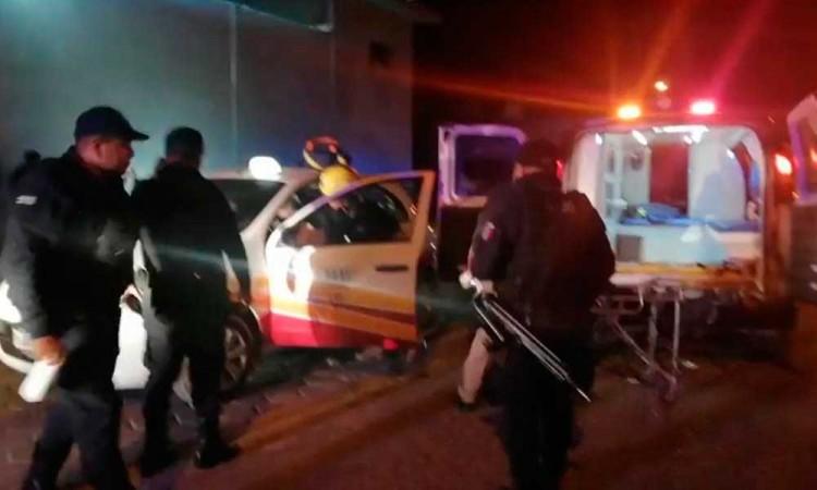 Matan a taxista en intento de asalto en Tehuacán