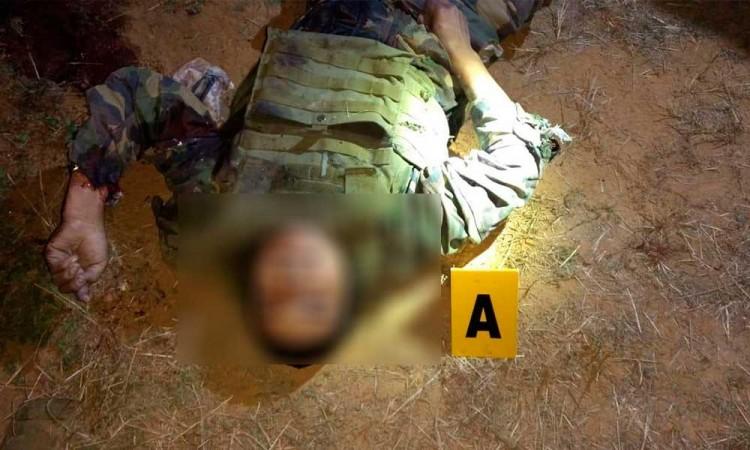 Asesinan a militar de la Mixteca en enfrentamiento