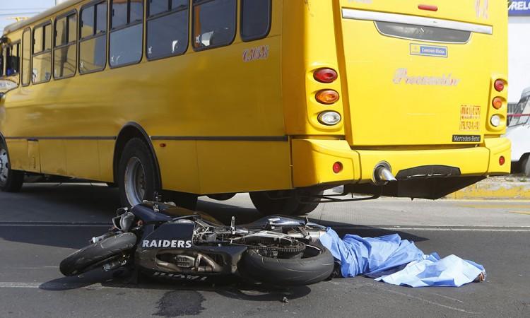 Muere en choque motociclista de Texmelucan