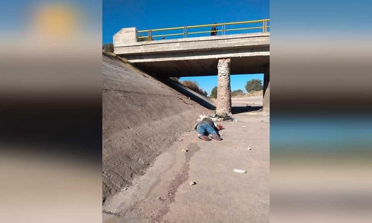 Encuentran cadáver en el canal de Valsequillo de Tecamachalco
