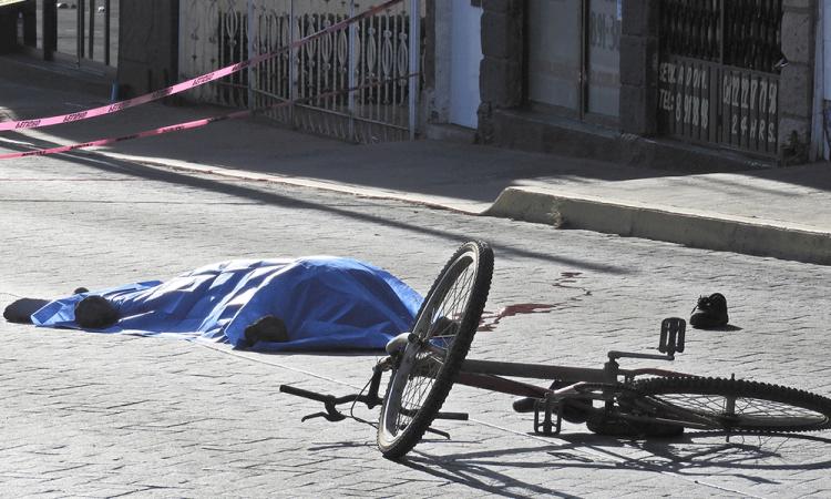 Atropellan a ciclista en San Pedro Cholula