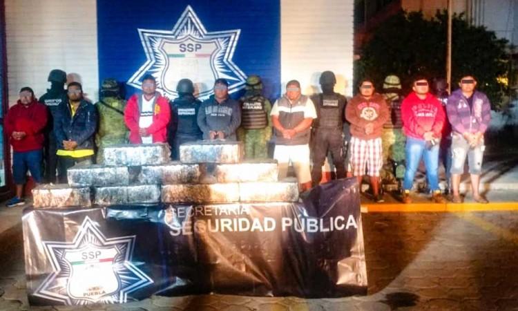 Capturan a 4 traficantes de Chiapas