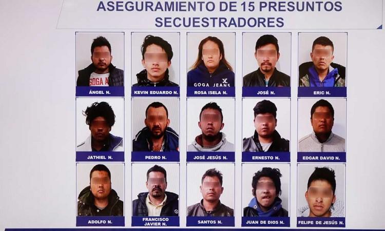 Cae banda de secuestradores que simulaban ser policías