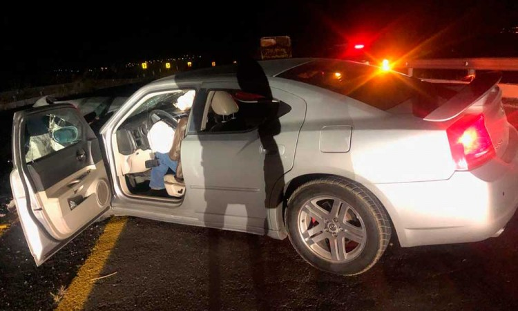 Muere conductor en la autopista Siglo XXI
