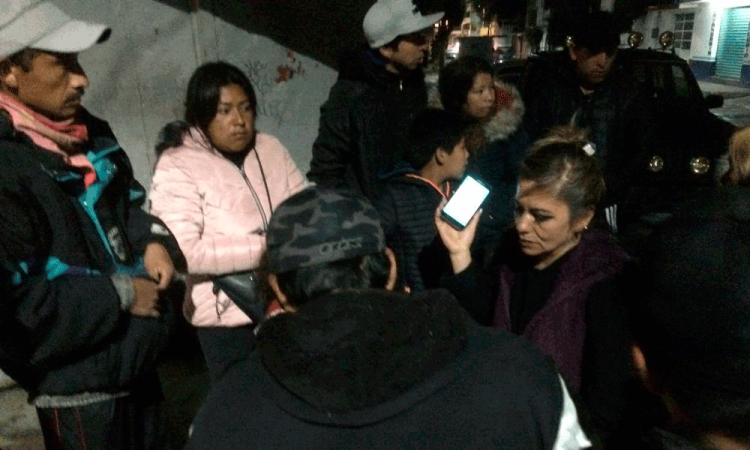 Huachigaseros obligan a comunidad a evacuar de Tepatlaxco por fuga