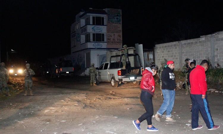 Controlan fuga de gas en San Cristóbal Tepatlaxco