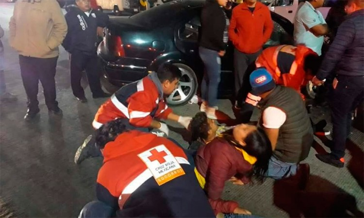 Deja lesionados accidente en la Puebla-Amozoc