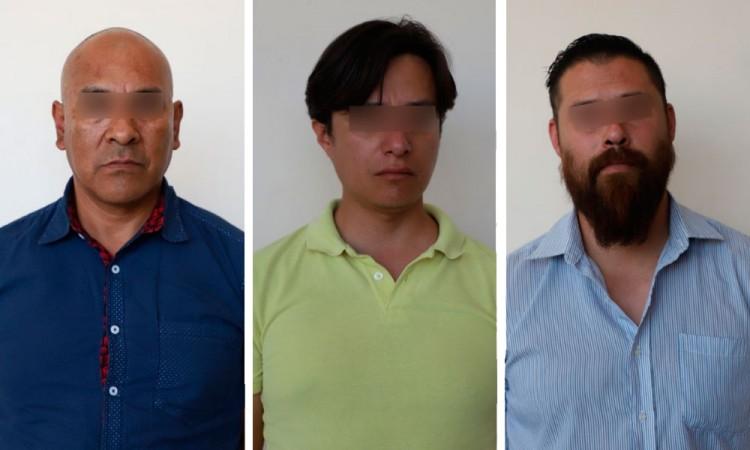 Detuvieron FGE y SSPTM de Puebla a tres hombres, simularon robo a cuentahabiente