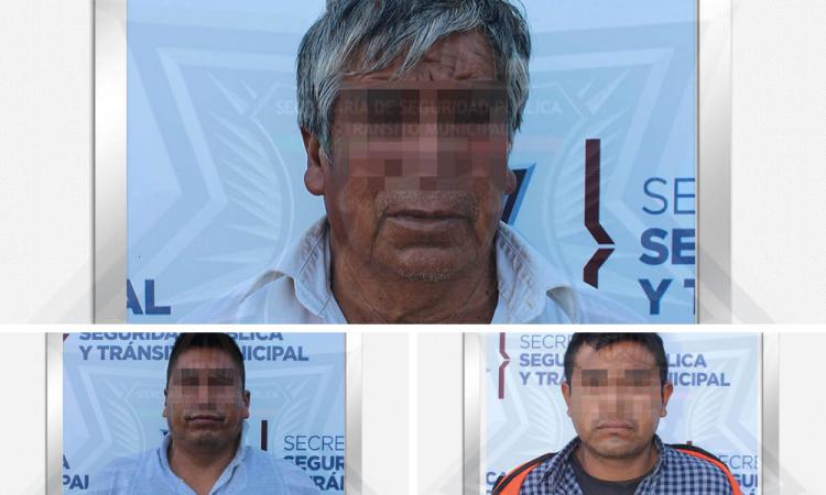 Detienen a tres personas por robo de fibra óptica