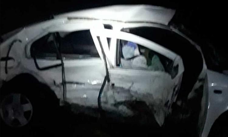 Mueren dos en accidente vial en Tepeaca; hay tres heridos