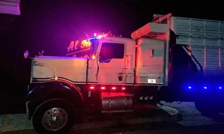 Matan a chofer de camión en Tepeaca