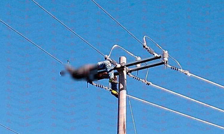 Muere hombre electrocutado en Zacatlán