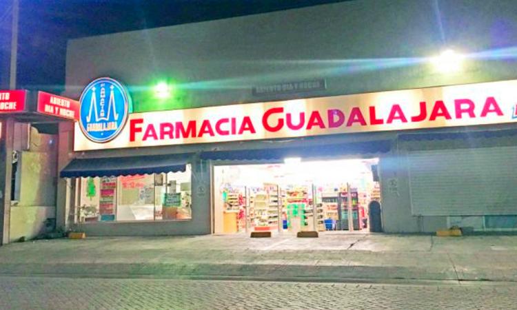 Asaltan Farmacias Guadalajara en Amalucan y Naciones Unidas