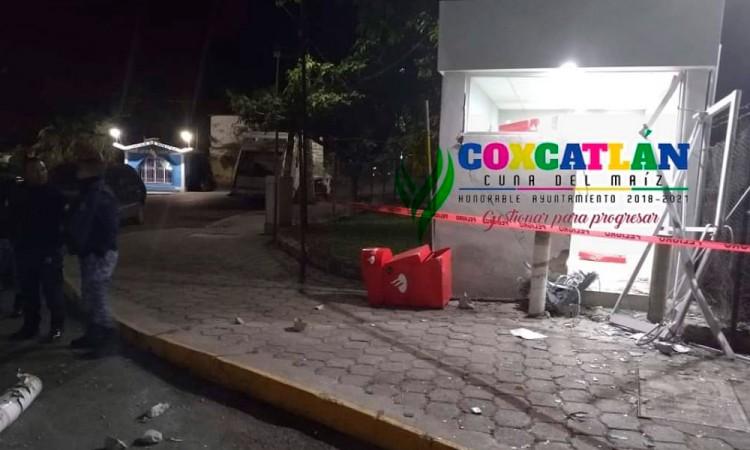 Frustran intento de robo a cajero automático en Calipam