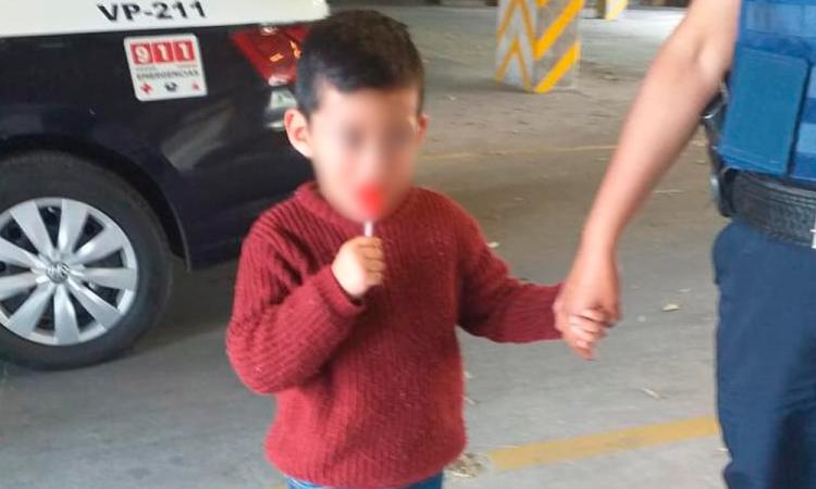 Encuentran a niño reportado como desaparecido en San Pablo Xochimehuacán