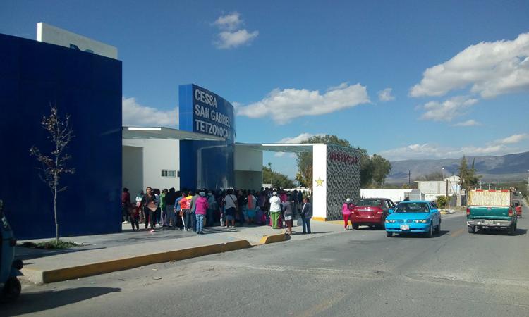 Golpean a enfermeras en CESSA de Yehualtepec