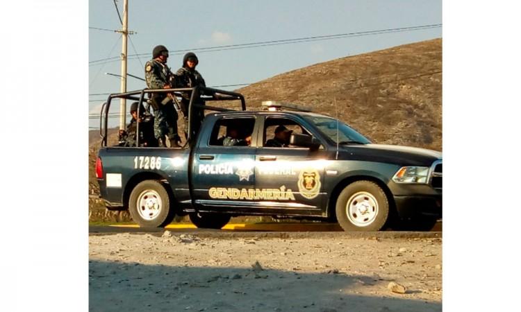 Balacera en Tlaixpan moviliza a la Guardia Nacional